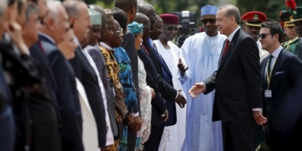 Turquie-Afrique : Ankara veut s'affirmer en puissance montante sur le marché africain