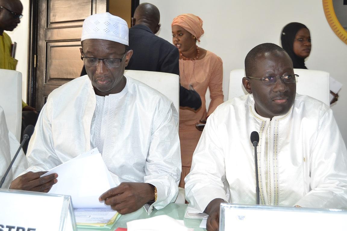 Revivez tout en image la visite du ministre Amadou Bâ à la Direction générale de la comptabilité et du trésor public