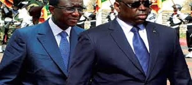 Macky Sall et son ministre en charge des Finances, Amadou Bâ,