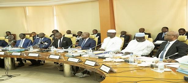 Réunion du Conseil des ministres de l'UEMOA.