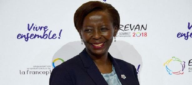 Louise Mushikiwabo, nouvelle Secrétaire générale de la Francophonie.