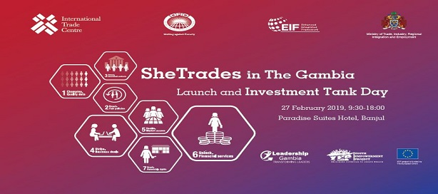 Le Centre du commerce international lance SheTrades en Gambie