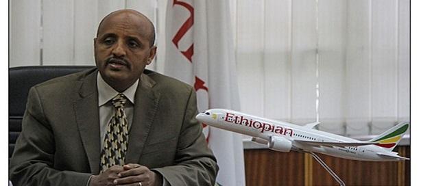 TewoldeGebreMariam, directeur général du groupe Ethiopian Airlines