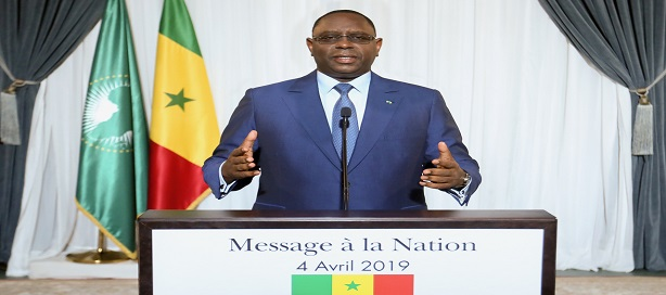 Message à la nation du président Macky Sall à l'occasion de la célébration du 59ième anniversaire de l'indépendance du Sénégal