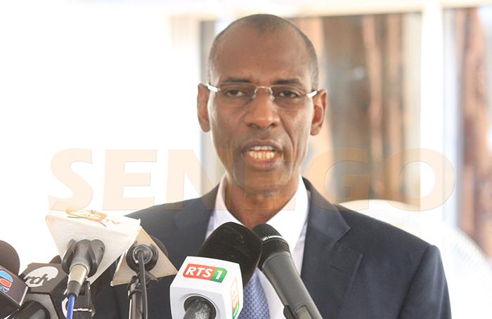 Abdoulaye Daouda Diallo, ministre sénégalais des Finances et du Budget