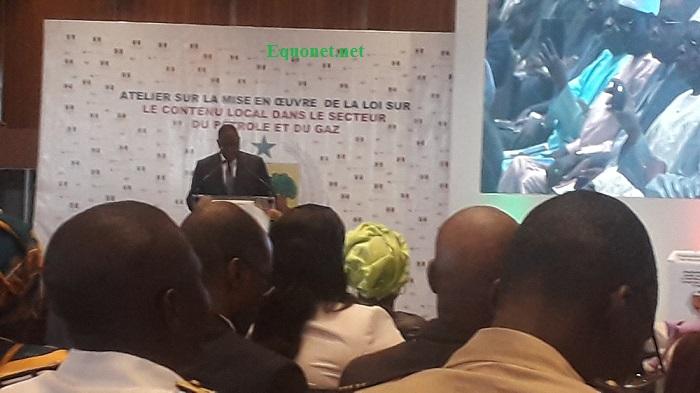 Macky Sall face aux revendications des acteurs sur le contenu local dans le secteur pétrolier et gazier
