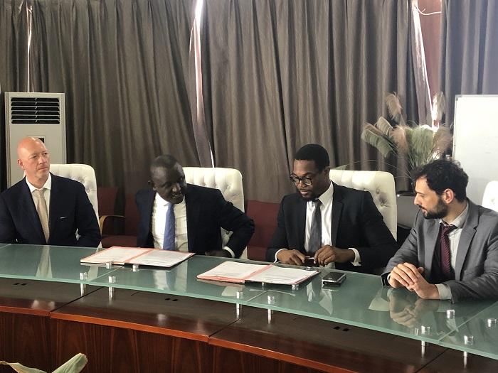 Signature convention de partenariat entre la Der et GreenTec Capital Partners