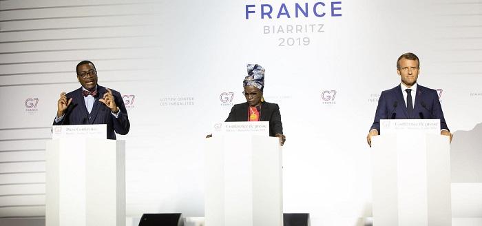 Plus de 147 milliards FCFA du G7 à l'initiative Afawa de la Banque africaine de développement