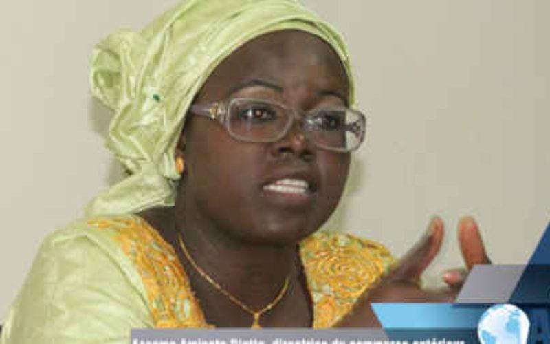 Assome Aminata Diatta, ministre sénégalais du Commerce et des PME.