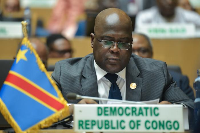 Le président congolais Félix Tshisékédi