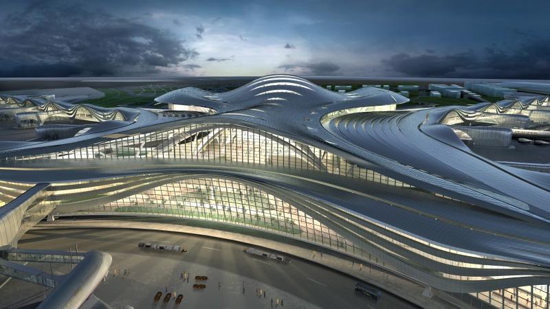 Abu Dhabi Airports attribue un contrat pour le développement d'un salon au Midfield Terminal à NAS et à Airport Dimensions
