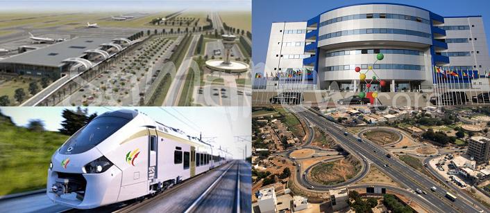 Les investissements publics tire la croissance au Sénégal.