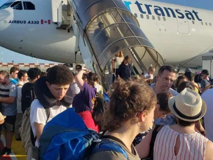 Indemnisation des passagers canadiens.