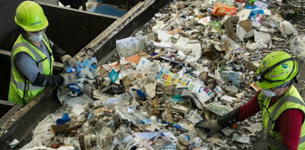 Des pays comme les Etats unis d'Amérique produisent plus de déchets que les pays en développement.