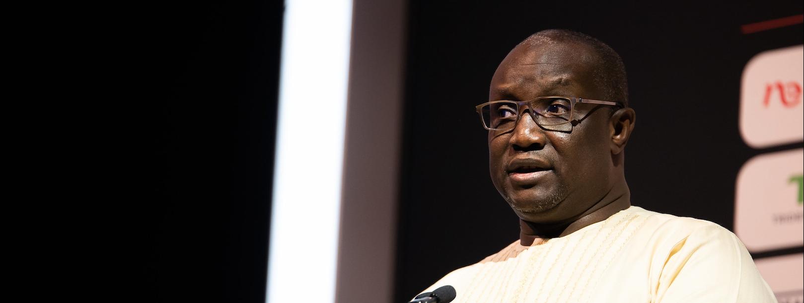 Mamadou Makhtar Cissé, ministre sénégalais du Pétrole et des énergies.