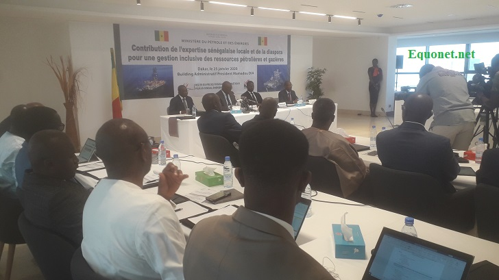 L'expertise sénégalaise de la diaspora sur l'exploitation du pétrole et du gaz.