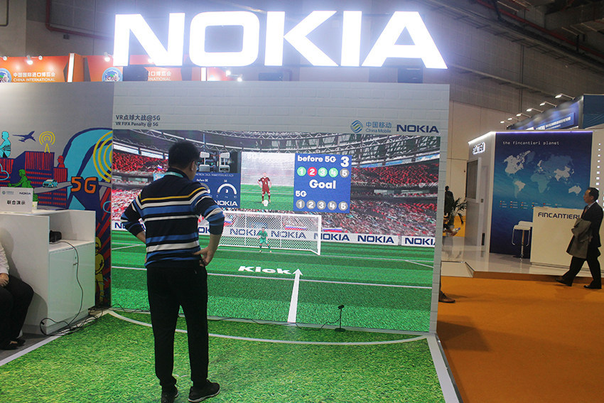 5G Nokia Chine
