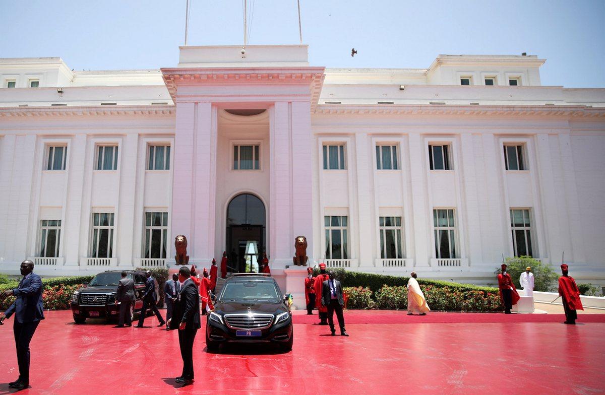 Palais de la République du Sénégal.