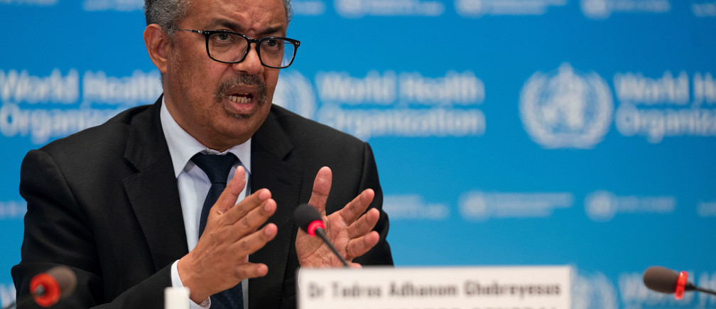 Dr Tedros Adhanom Ghebreyesus, directeur général de  l'OMS