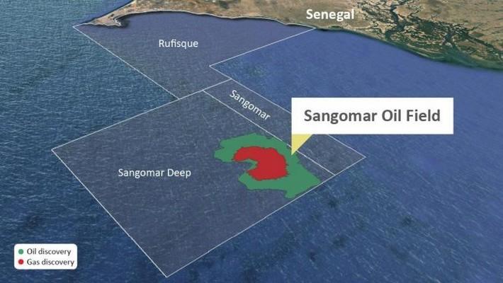 Champ pétrolier Sangomar.