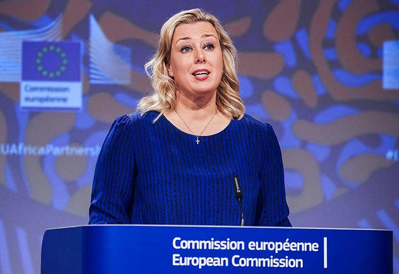 Urpilainen, Commissaire européenne pour les Partenariats internationaux.