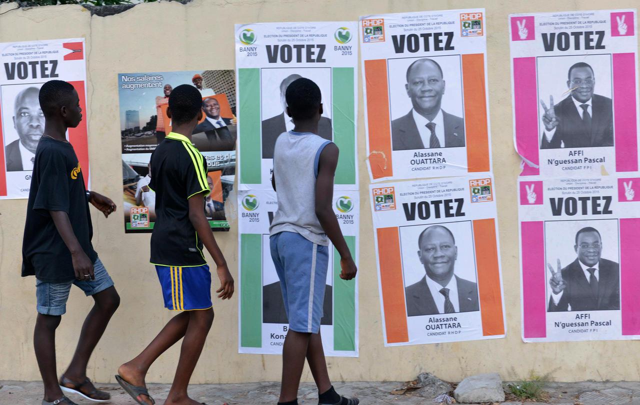 Election présidentielle en Côte d'Ivoire.