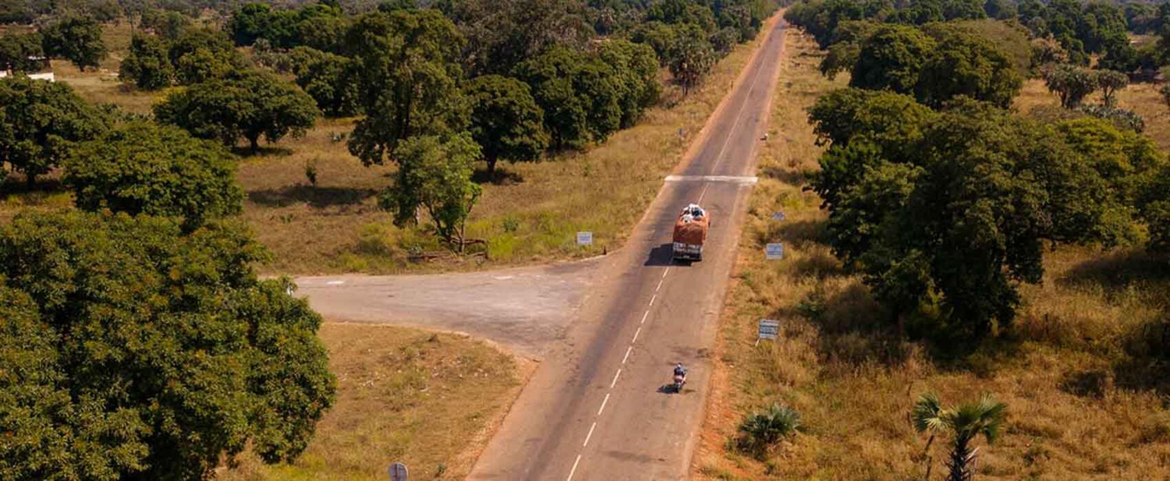 Corridor routier Côte d'Ivoire-Mali