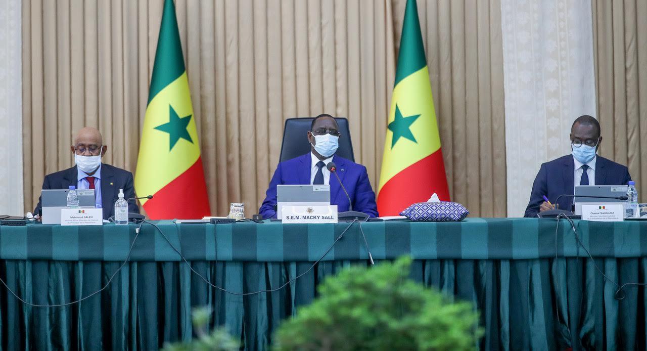 Le président de la République, Macky SALL a présidé le conseil des ministres ce mercredi 18 novembre 2020 au palais de la République.