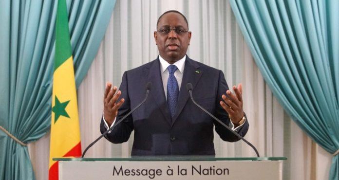 Sénégal-Nouvel an : message à la nation du président Macky Sall