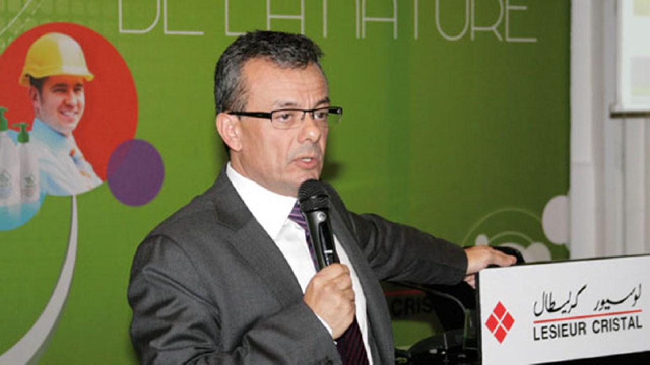 Samir Oudghiri DG Lesieur Cristal