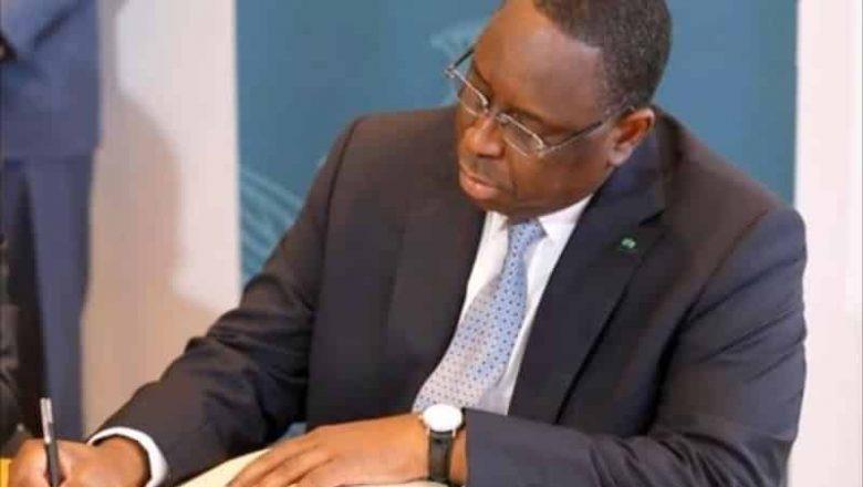 Les nominations au conseil des ministres du Sénégal du mercredi 20 janvier 2021