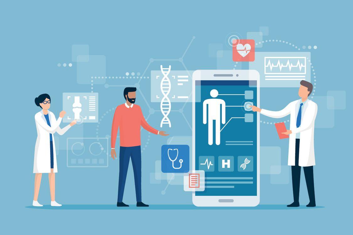 Industrie de la santé numérique.