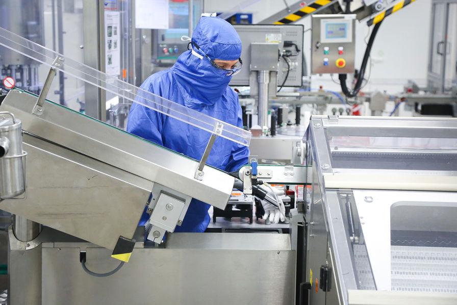 Fabrication de vaccins covid19.