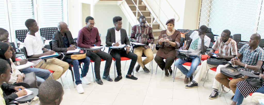 Politique d'accompagnement entrepreneurial au Sénégal.