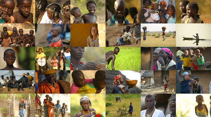 Ethnie au Sénégal.