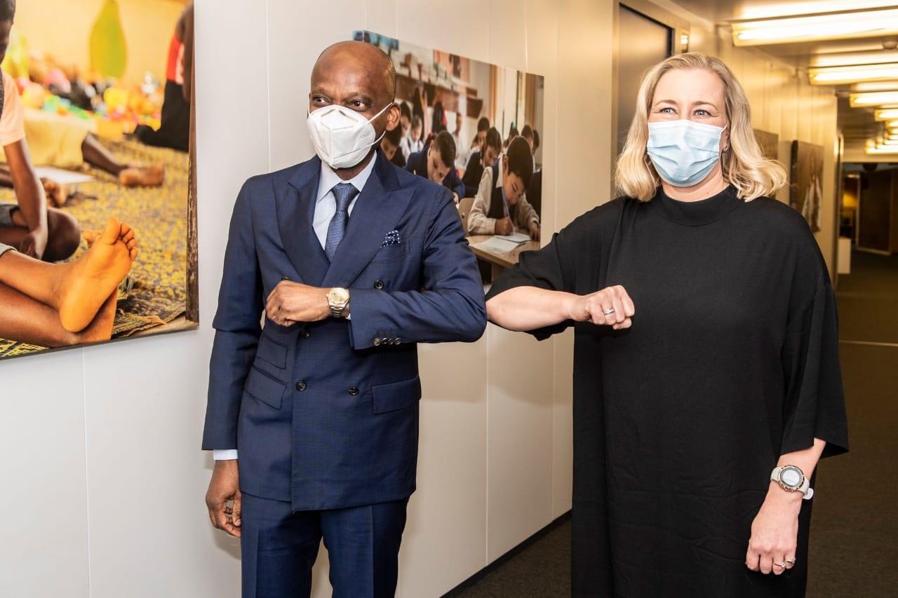 Les négociateurs en chef de l'accord post-Cotonou entre l'Ue et les Oeacp