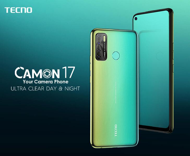Tecno mobile est en tête de la photographie améliorée par l'intelligence artificielle, comme en témoigne son tout nouveau CAMON17 Pro.