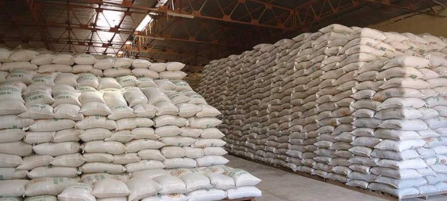 stockage de sécurité alimentaire