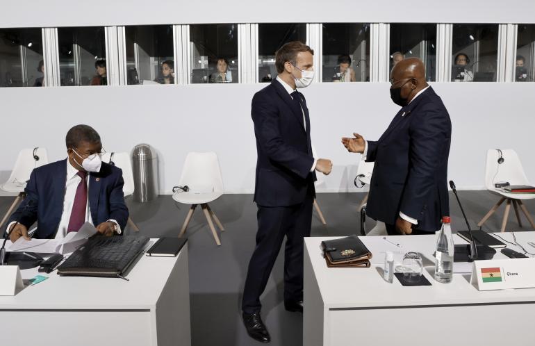 Déclaration finale du sommet sur le financement des économies africaines
