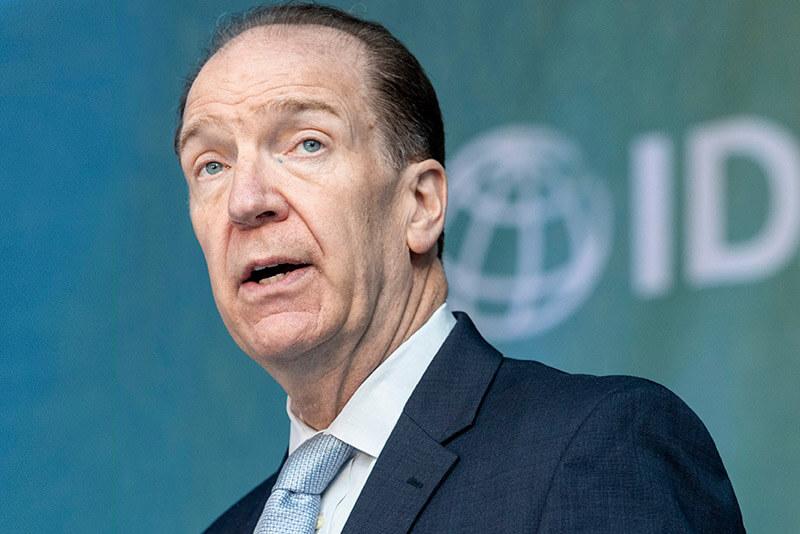 David Malpass est le président du Groupe de la Banque mondiale.