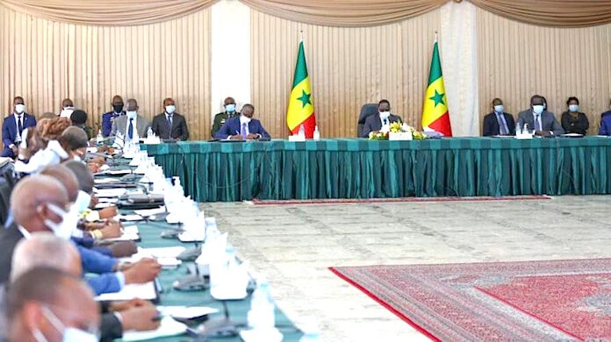 Communiqué du conseil des ministres du Sénégal du mercredi 30 juin 2021