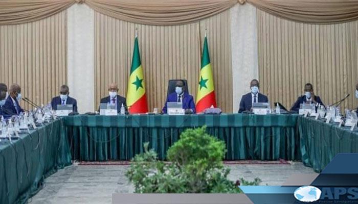 Communiqué du conseil des ministres du Sénégal du mercredi 05 juin 2021