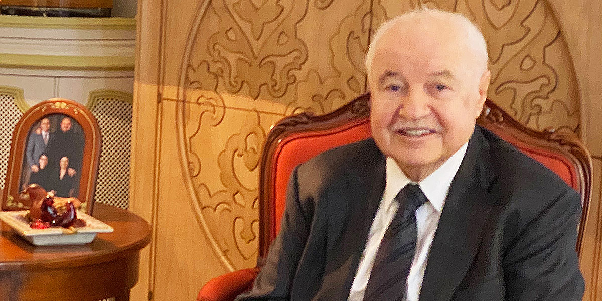 Talal Abu-Ghazaleh, président TAG.Global, co-président ''La Verticale AME''