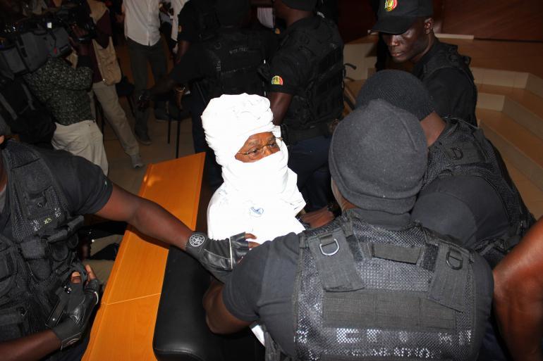 Procès Hissène Habré au Sénégal.