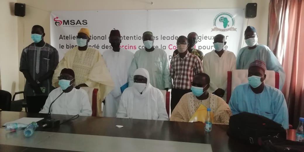 Les leaders religieux et coutumiers sénégalais s'engagent pour une campagne d'incitation à la vaccination contre covid 19 avec des arguments irréfutables.