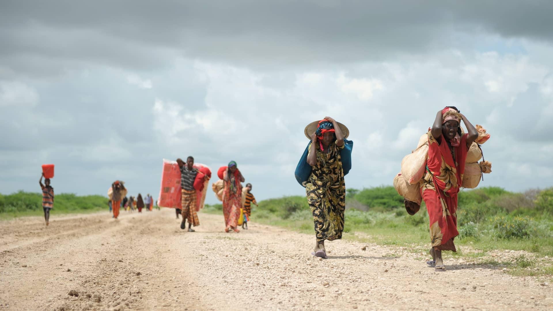 Le changement climatique pourrait forcer 216 millions de personnes à migrer dans leur propre pays d'ici 2050