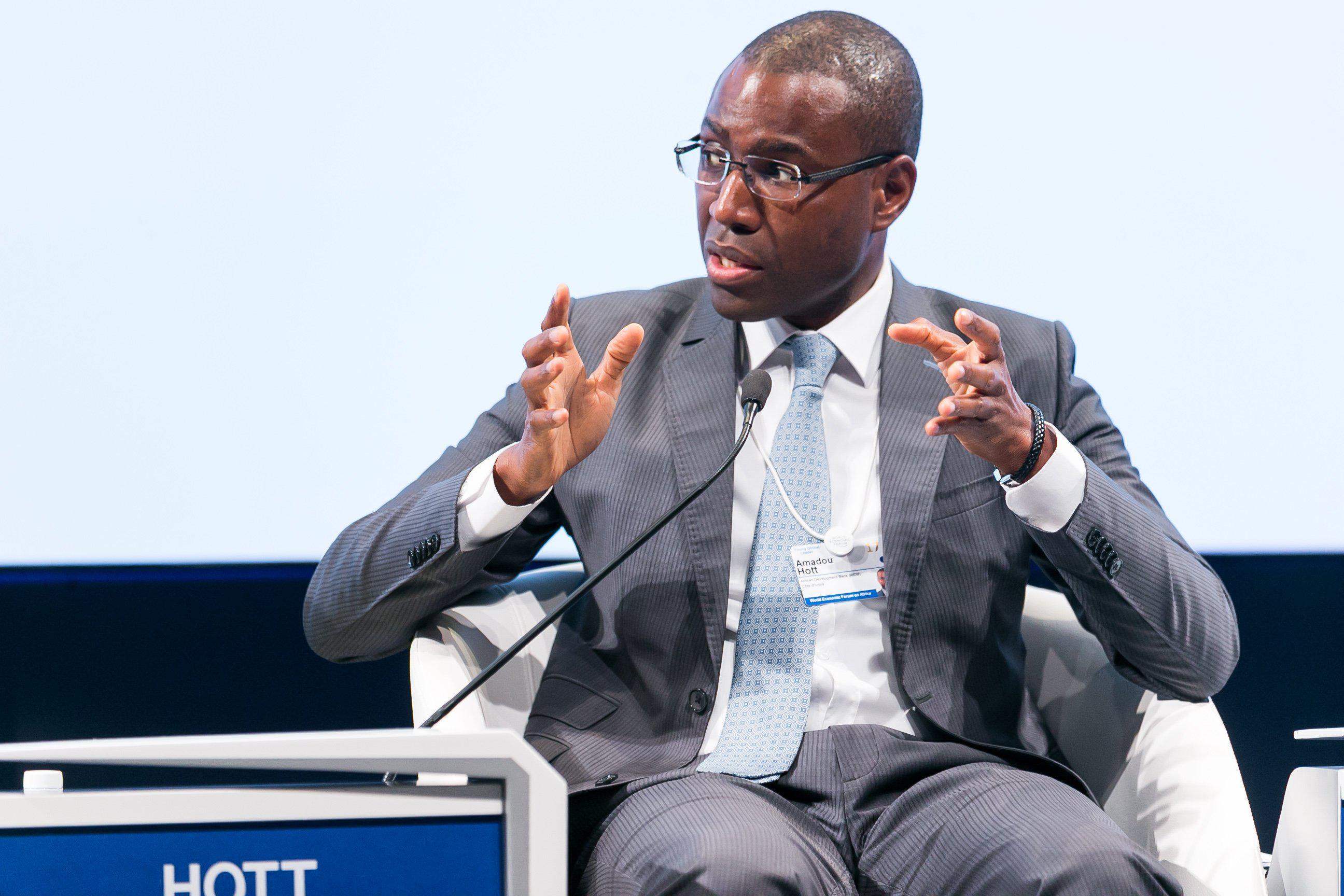 Amadou Hott, ministre sénégalais de l'Economie, du Plan et de la Coopération.