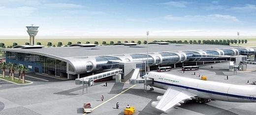 Aéroport international Blaise Diagne.