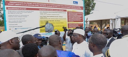 Macky Sall souhaite une 'législation' nouvelle' sur la destruction des infrastructures
