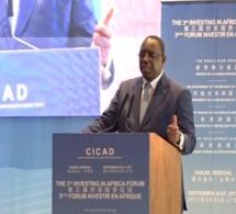 Macky Sall : «l'Afrique ne peut se développer en misant sur les aides»